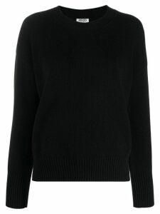 Kenzo logo knit jumper - Black