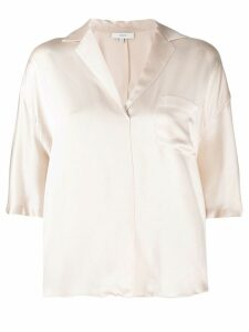 Vince v-neck silk blouse - NEUTRALS