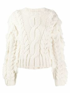 Ulla Johnson chunky knit jumper - White