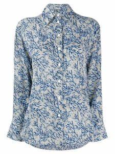 Michael Michael Kors floral blouse - Blue