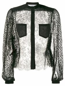 Givenchy sheer blouse - Black