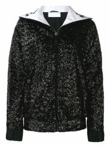 No Ka' Oi sequined track jacket - Black