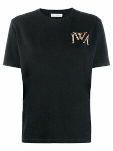 JW Anderson rainbow logo T-shirt - Black