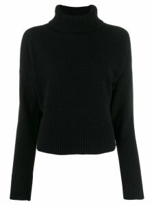 P.A.R.O.S.H. turtle neck jumper - Black
