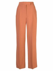 Partow high-rise straight trousers - Orange