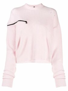 UNRAVEL PROJECT loose fit jumper - PINK