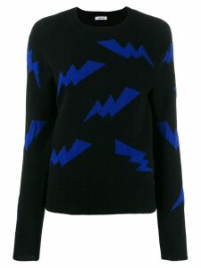 P.A.R.O.S.H. lighting bolt jumper - Black
