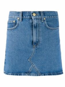 Chiara Ferragni mini denim skirt - Blue