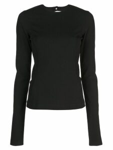 Rick Owens open back top - Black