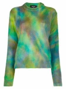 Dsquared2 tie dye sweater - Green
