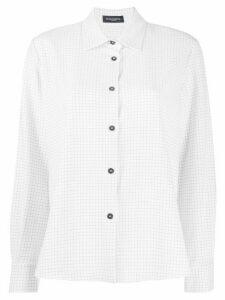 Piazza Sempione checked shirt - White
