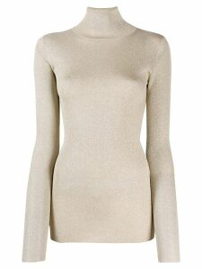 Brunello Cucinelli roll neck sweater - GOLD