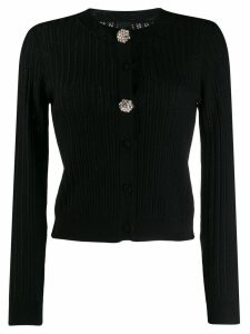 Pinko embellished button cardigan - Black