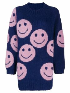 Marc Jacobs smiley jumper - Blue