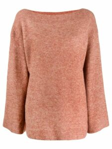 3.1 Phillip Lim boat neck knitted sweater - Neutrals