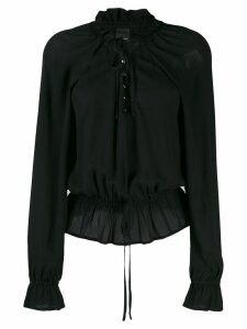 Pinko bell sleeve blouse - Black