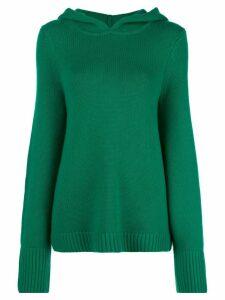 Khaite hooded jumper - Green