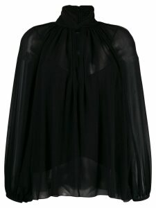 Givenchy hang collar blouse - Black