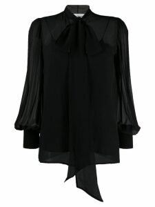 Givenchy tie neck blouse - Black
