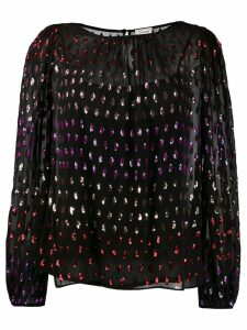 Temperley London embellished blouse - Black