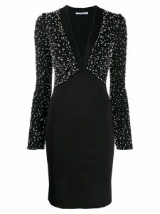 Givenchy embroidered knit dress - Black