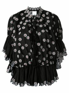 Acler Spencer blouse - Black