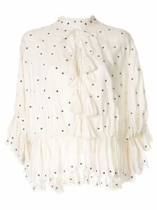 Acler Spencer blouse - White