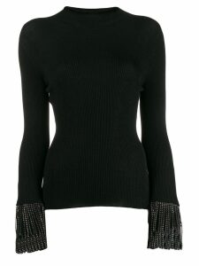 Philosophy Di Lorenzo Serafini stud detail knitted top - Black