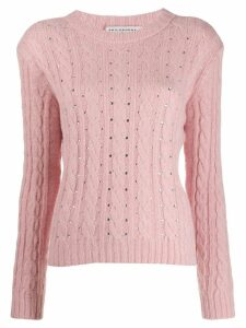 Philosophy Di Lorenzo Serafini embellished sweater - Pink