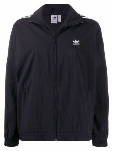 adidas zip-up track jacket - Black