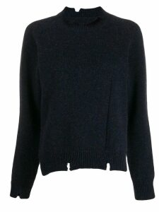 Maison Margiela textured jumper - Blue