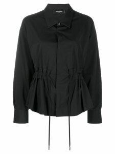 Dsquared2 drawstring shirt - Black