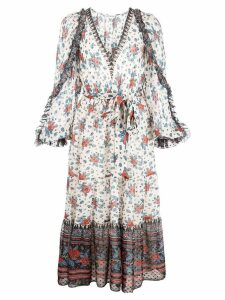 Ulla Johnson Romilly floral print dress - White