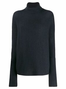 Christian Wijnants oversized roll-neck sweater - Blue