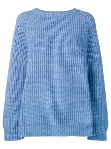 Marni oversized sweatshirt - Blue