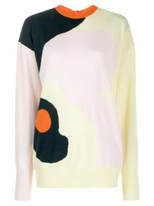 Roksanda abstract print jumper - Yellow
