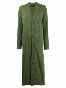 Dsquared2 long cardigan - Green