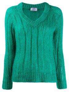 Prada chunky knit jumper - Green