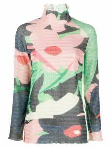 Roksanda floral print top - Green