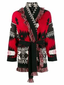 Alanui western cardigan - Red