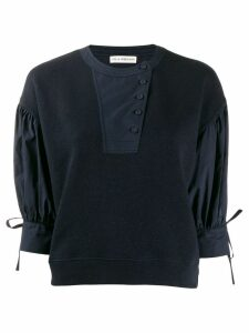 Ulla Johnson button up sweatshirt - Blue