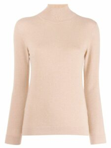 Agnona turtleneck jumper - NEUTRALS