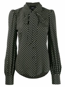 Marc Jacobs polka-dot blouse - Black