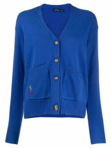 Polo Ralph Lauren button-down v-neck cardigan - Blue