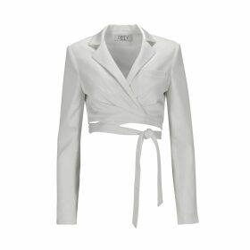 Hayley Menzies - Ombré Crocodile Shirt Dress
