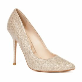 Lucy Choi London - Aster Beige Glitter