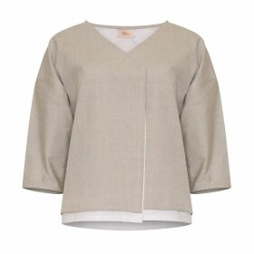 Bo Carter - Liza Jacket Beige & White