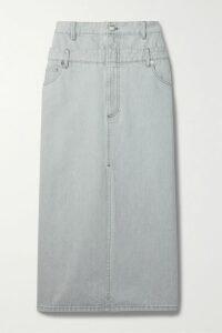Ksubi - Playback Belted High-rise Straight-leg Jeans - Light denim