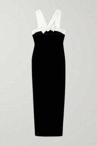 Nili Lotan - Joey Silk-satin Jacquard Blouse - Black