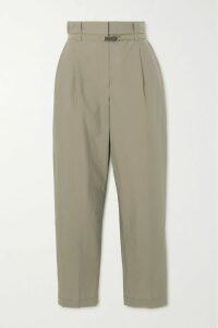 MATERIEL - Jacquard Straight-leg Pants - Green